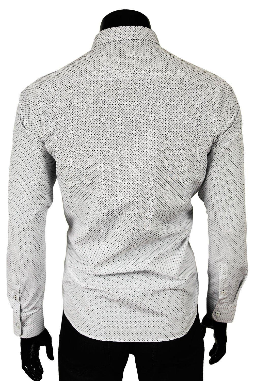 ... Armani Jeans Pánská košile bílá AM15T Klikněte pro zvětšení 1b9eca0619