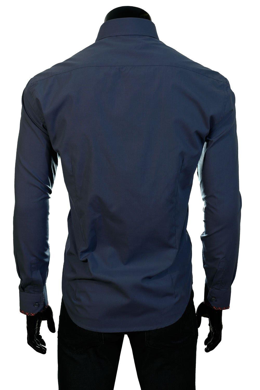 ... BP 11T Tmavomodrá pánská košile Klikněte pro zvětšení 9736d7eda9