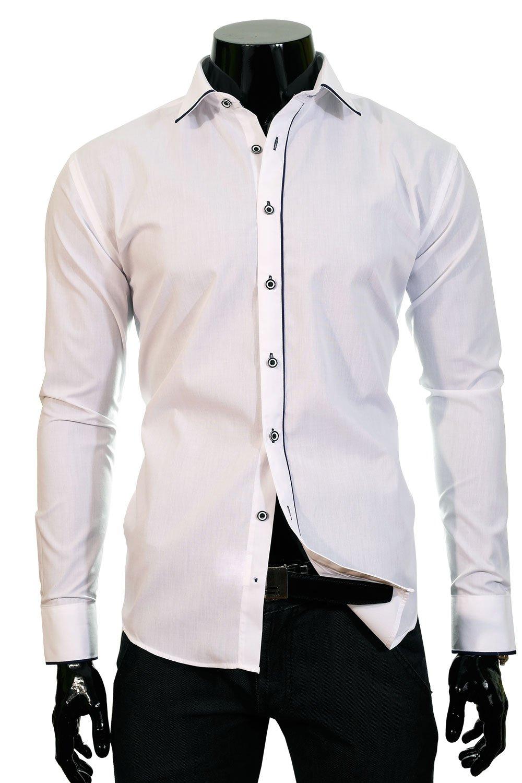 BP 71F Bílá pánská košile Klikněte pro ... 560abc5c37