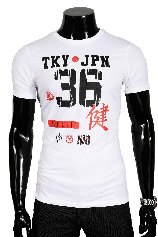 44e8ded51 Pánské tričko t-shirt GS27 bílá | Trička | Košile pánské a kravaty ...