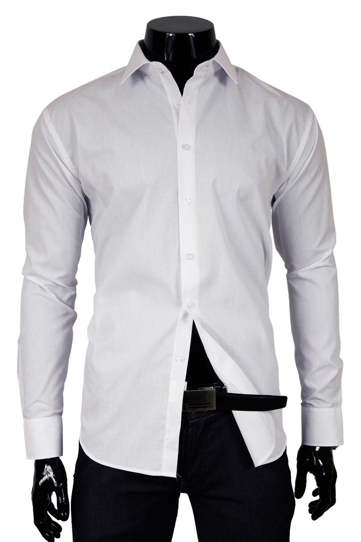 TS 73T Bílá pánská košile Klikněte pro ... 134de2272e
